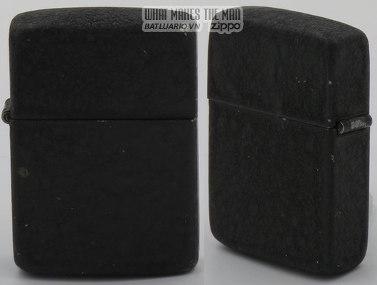 Zippo 1940-41 black crackle
