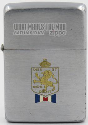 Zippo 1941 British War Relief Society Deu et Mon Droit T&C