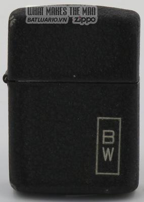 Zippo 1942-45 black crackle BW