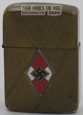 Zippo 1942-45 with inlaid Swastika