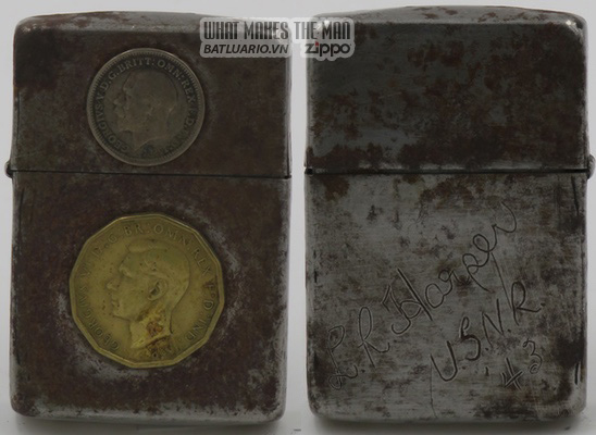 Zippo 1943 - 2 English Coins Harper