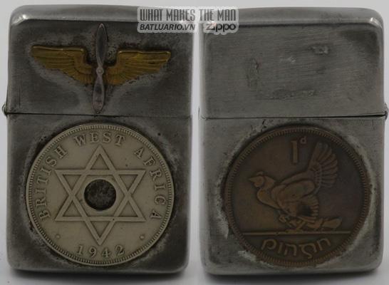 Zippo 1943-45 Coins Ireland West Africa