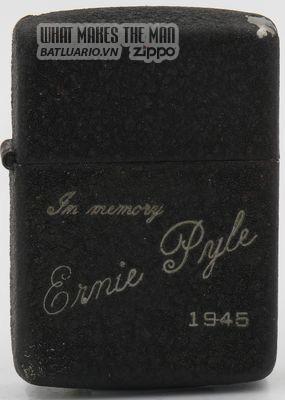 Zippo 1945 In memory of Ernie Pyle