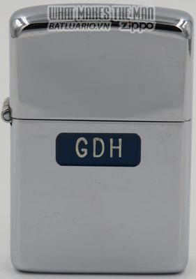Zippo 1946-47 Hutton T&C initials GDH