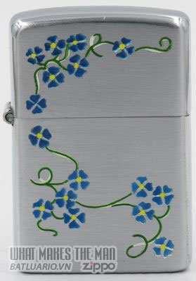 Zippo 1946-47 T&C Blue morning glories