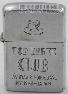Zippo 1946-49 TopThree Club Kyushu Japan