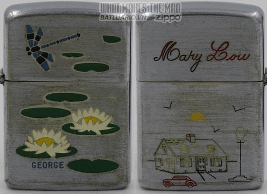Zippo 1948 Employee lily pond Mary Lou