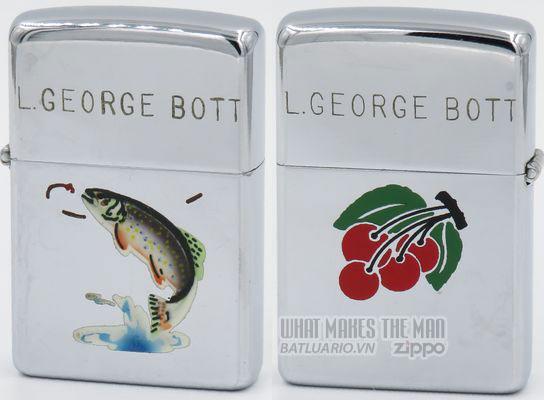 Zippo 1949 T&C Trout Cherries George Bott