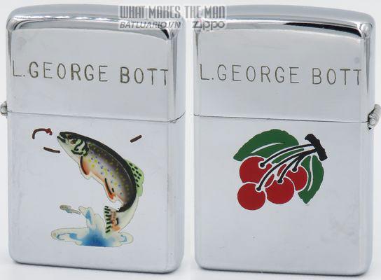 Zippo 1949 T&C - Zippo Trout Cherries George Bott