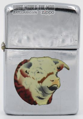 Zippo 1951 T&C - Zippo with Cow's head