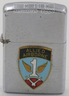 Zippo 1952-53 Airborne emblem