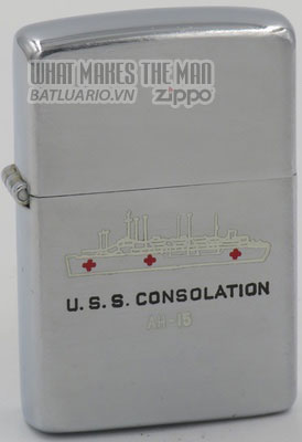 Zippo 1952-53 USS Consolation