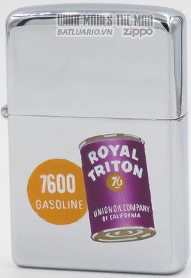 Zippo 1955 Zippo Royal Triton oil can