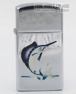 Zippo 1958 slim T&C Zippo with sailfish