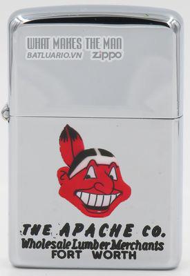 Zippo 1959-60 T&C Zippo for The Apache Co