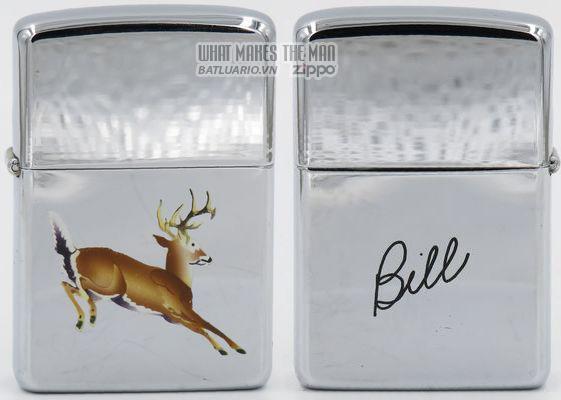 Zippo 1959 T&C - Zippo Leaping deer Bill