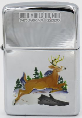 Zippo 1960 T&C - Zippo leaping deer