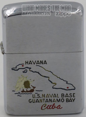 Zippo 1961 Guantanamo Cuba