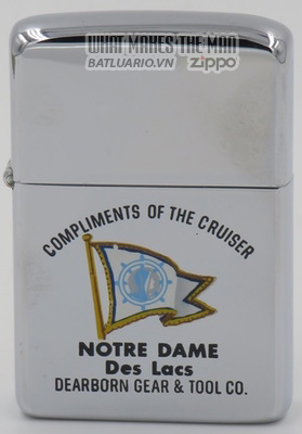 Zippo 1961 Town & Country Zippo Notre Dame des lacs
