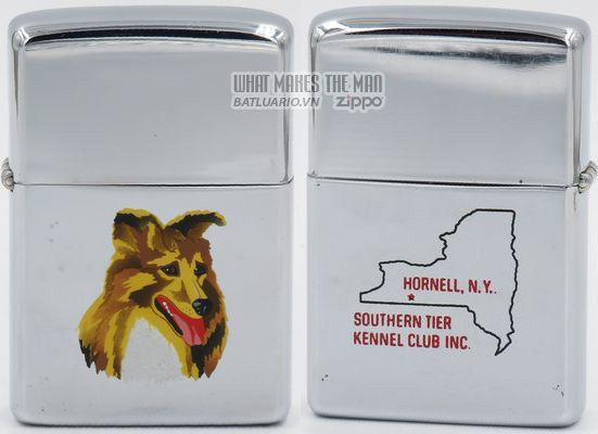Zippo 1962 T&C Collie trans Souther Tier Kennel Club