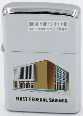 Zippo 1962 T&C First Federal Savings
