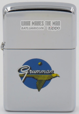 Zippo 1965 T&C - Zippo with Grumman logo