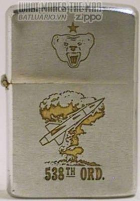 Zippo 1966 for 538th Ordnance