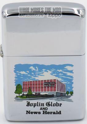 Zippo 1968 T&C - Zippo Joplin Globe News & Herald
