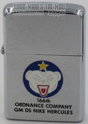Zippo 1969 166th Ord Co Hercules