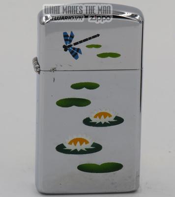 Zippo 1969 T&C slim Zippp Lilly pond