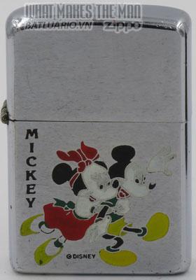 Zippo 1970 Mickey & Minnie Mouse