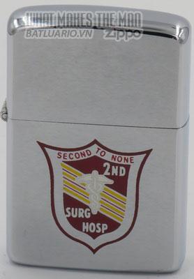 Zippo 1972 2nd Surgical Hospital