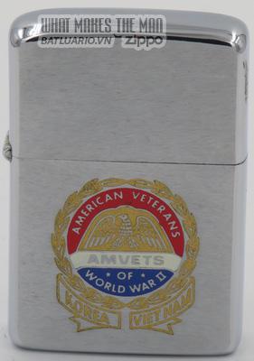 Zippo 1972- American Veterans WWII