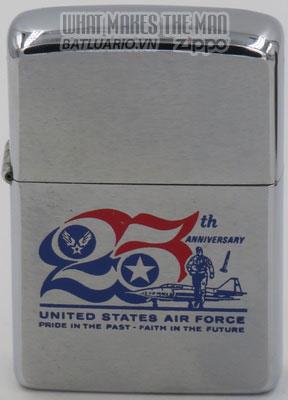 Zippo 1972 USAF 25th Anniversary