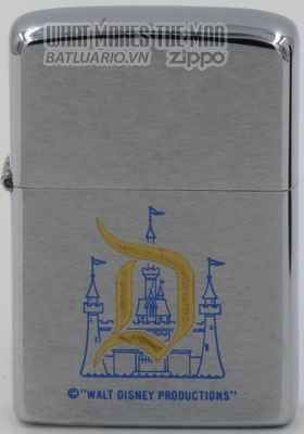 Zippo 1976 with Disneyland castle