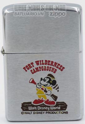 Zippo 1979 Fort Wilderness Mickey Mouse