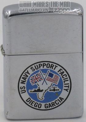 Zippo 1981 US Navy Support Facility Diego Garcia