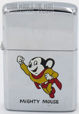 Zippo 1982 Mighty Mouse Skateboard