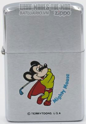Zippo 1982 Mighty Mouse golfer