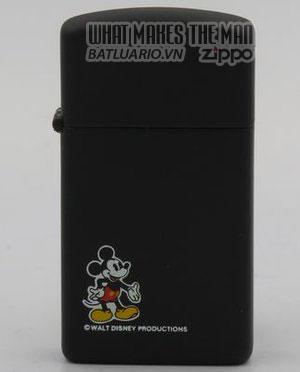 Zippo 1983 small Mickey on slim Zippo