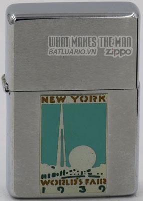 Zippo 1997 Metallique 1939 Worlds Fair