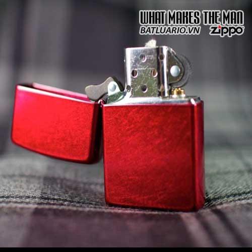 Bật Lửa Zippo 21063 - Zippo Candy Apple Red 3