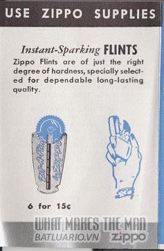 giấy hướng dẫn sử dụng zippo canada 1950s 5