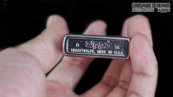 hộp quẹt zippo trơn xước 207 9