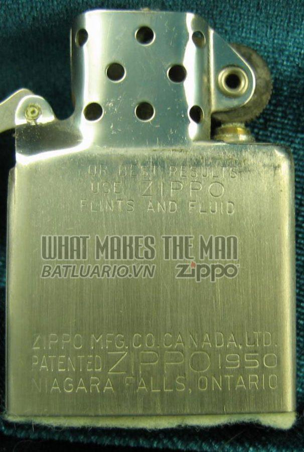 ruột zippo canada năm 1959 - 1963 1