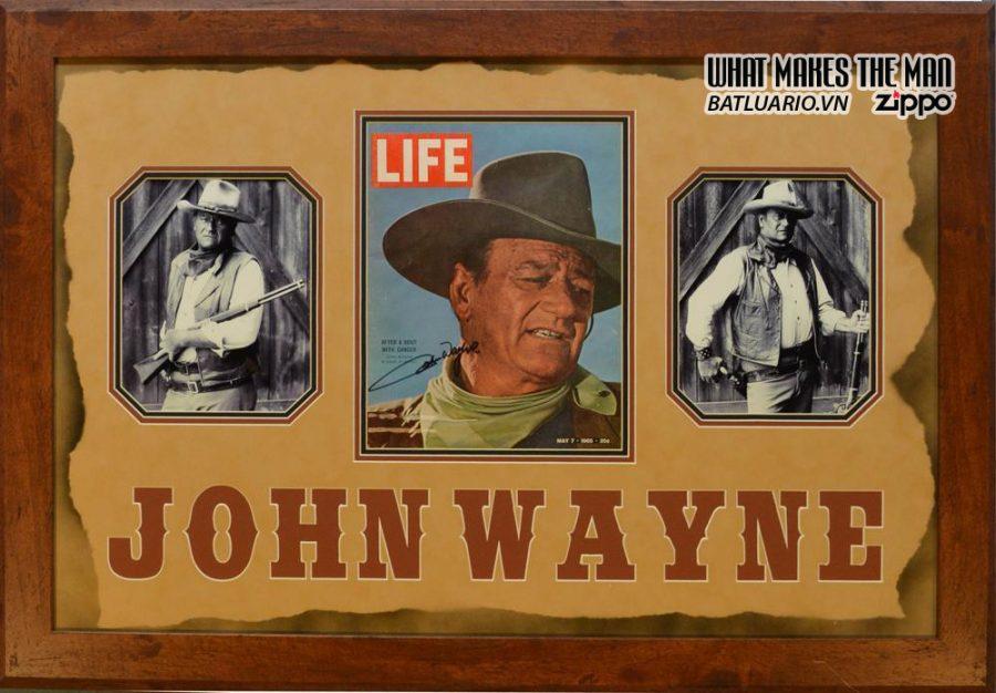 SET ZIPPO JOHN WAYNE ART 2