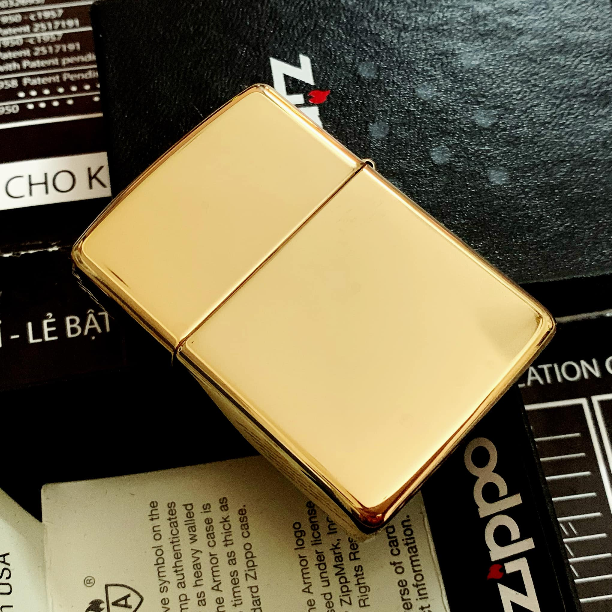 Zippo 169 - Zippo Armor High Polished Brass 8