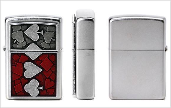 Zippo 24850 - Zippo 4 Card Suits 2