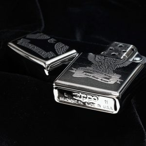 Zippo 28290 - Zippo Eagle High Polish Chrome 3