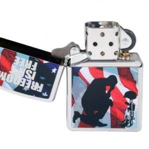 Zippo 28336 - Zippo Freedom Isn't Free High Polish Chrome 3